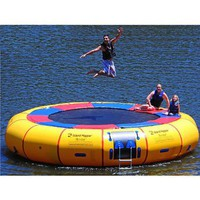 Island Hopper Acrobat 20 Foot Water Trampoline 2011: Sports &amp; Outdoors