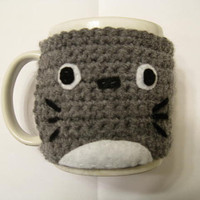 Crochet Totoro Coffee Mug Cozy