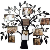 New View Family Tree Metal Collage Frame: Home & Kitchen