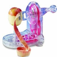 Starfrit 93013 Pro-Apple Peeler with bonus core slicer: Kitchen &amp; Dining