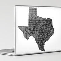Texas Lines Laptop &amp; iPad Skin by Romi Vega | Society6