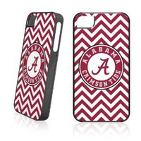 Amazon.com: Skinit Alabama Chevron Print for LeNu Case for Apple iPhone 4 / 4S: Cell Phones & Accessories