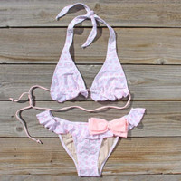 The Spool Swim Eyelets & Bows Bikini, Sweet Bohemian Swim Suits & Bikinis