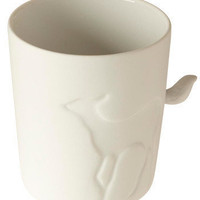 Tail for Two Mug in Fawn | Mod Retro Vintage Kitchen | ModCloth.com