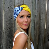 Build a Turban - Mix &amp; Match - Vintage Turban Style Stretch Jersey Knit Headband