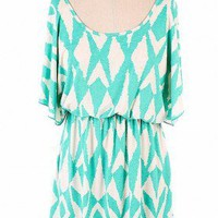 Aztec Swing Dress - Bella Style Boutique