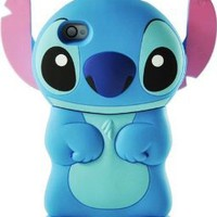 Amazon.com: Blue Stitch 3D Movable Ear Flip Hard Case For Apple iPhone 4S: Cell Phones & Accessories