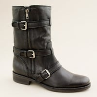Miller short motorcycle boots