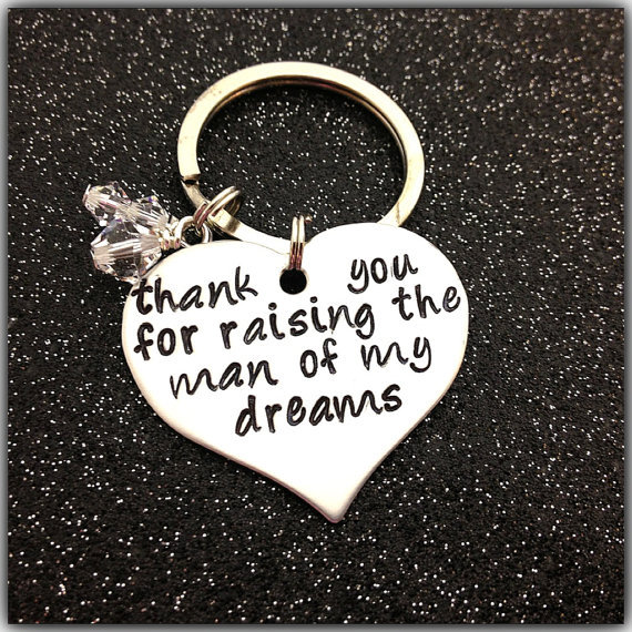 Wedding Gifts For Mother In Law : ... dreams Wedding Gift Mother In Law Mother Of the Groom key chain ring