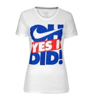 Nike Oh Yes I Did Short Sleeve T-Shirt - Women's at Foot Locker