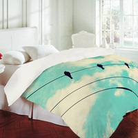 DENY Designs Home Accessories | Shannon Clark Three Little Birds Duvet Cover