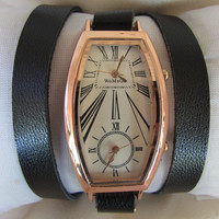 Special Double Movement Wrist Watch - Orlogin style  FREE SHIPPING