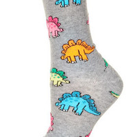 All Over Stegosaurus Socks - Tights & Socks  - Clothing