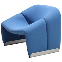 Easy Chair F598 by Pierre Paulin