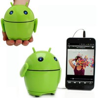 GOgroove Pal Bot Portable Rechargeable Android Speaker