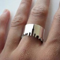 NY skyline Ring from MOA by Ingrid Montoya