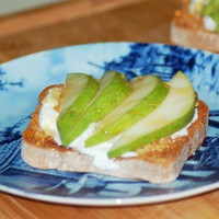ricotta & pear toast - Home - A Sweet Simple Life