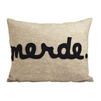 Merde Pillow  - Bedding