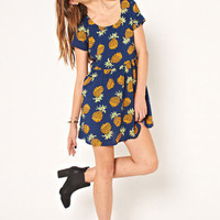 MARKET HQ | Babydoll Pineapple Dress