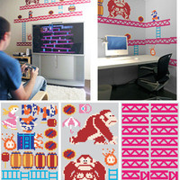 DONKEY KONG WALL GRAPHICS
