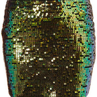 All Over Sequin Pelmet Skirt - Going Out  - Collections  - Topshop