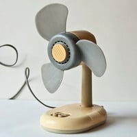 Vintage electric fan little tabletop desk fan by SovietEra on Etsy