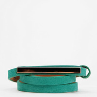 Urban Outfitters - remi &amp; reid Plated Skinny Belt