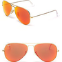 Ray-Ban Mirror Aviator Sunglasses | Bloomingdale&#x27;s