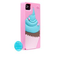 Cupcake Silicone Case for iPhone 4/4S