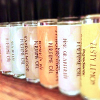 Perfume Oil - Five Roll On Perfume Oils - Natural Vegan Perfume