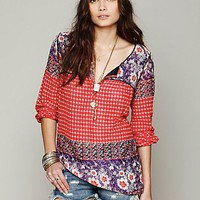 Free People India Print Tunic