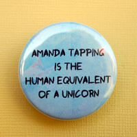 Amanda Tapping is the human equivalent of a unicorn by geektuary