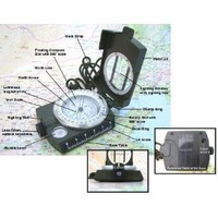Amazon.com: SE Military Lensatic Compass w/ Pouch: Sports &amp; Outdoors