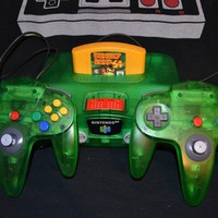 Nintendo 64 Jungle Green Pro Kit