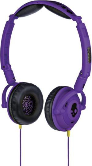 Skullcandy Lowrider Purple Mic'd Headphones