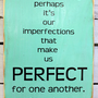Typography Wood Sign - PERFECT Wall Decor