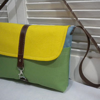 Maycas Daily Messenger Bag  Colour my Bag by maycascollection