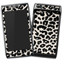 Droid Razor Black and White Leopard Skin