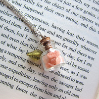 Fairy Bottle Necklace  A Unique and Perfect Gift by cataclysmos