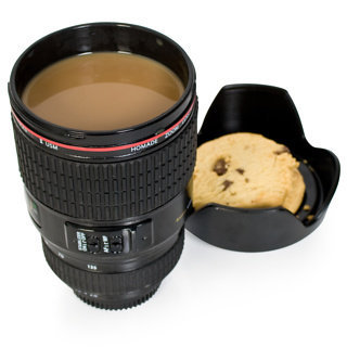 Camera Lens Mug - buy at Firebox.com