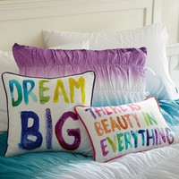 Paint Palette Pillow Cover