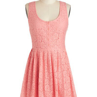 Jack by BB Dakota Cheer and Dear Dress in Pink | Mod Retro Vintage Dresses | ModCloth.com