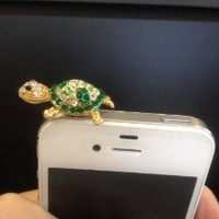 Amazon.com: Turtle Earphone 3.5 Mm Ear Cap Dock Dust Plug for Apple Iphone Ipod Cell Phone: Office Products