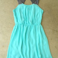 Portofino Mint Party Dress [2577] - $36.00 : Vintage Inspired Clothing & Affordable Fall Frocks, deloom | Modern. Vintage. Crafted.