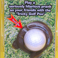 My Ball Landed Where - Dog Poop Golf Ball Prank