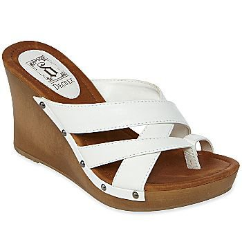 decree 194 174 wedge sandals all from jcpenney