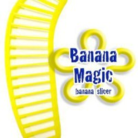 Banana Slicer Cutter * Banana Magic * Kitchen Tool - Handy Gadget instantly slice chop banana chips no knife necessary !: Kitchen &amp; Dining