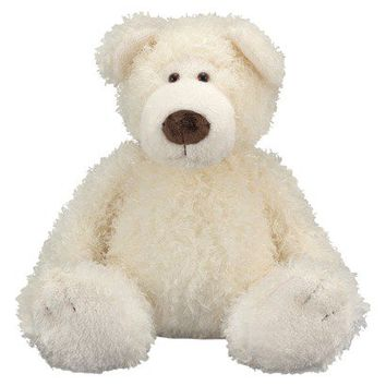 Melissa & Doug Big Roscoe Vanilla Teddy Bear
