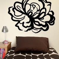 Large Rose Decal  - Decals