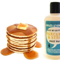 Pancakes & Syrup Scented Body Wash / Shower Gel